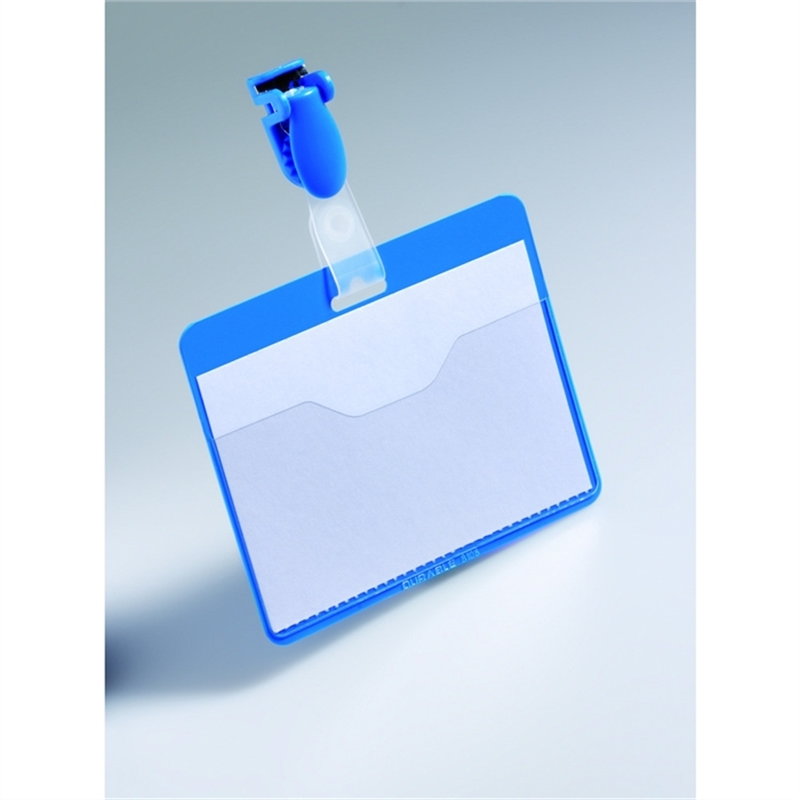 durable-namensschild-mit-clip-hartfolie-90-x-60-mm-blau-25-stueck