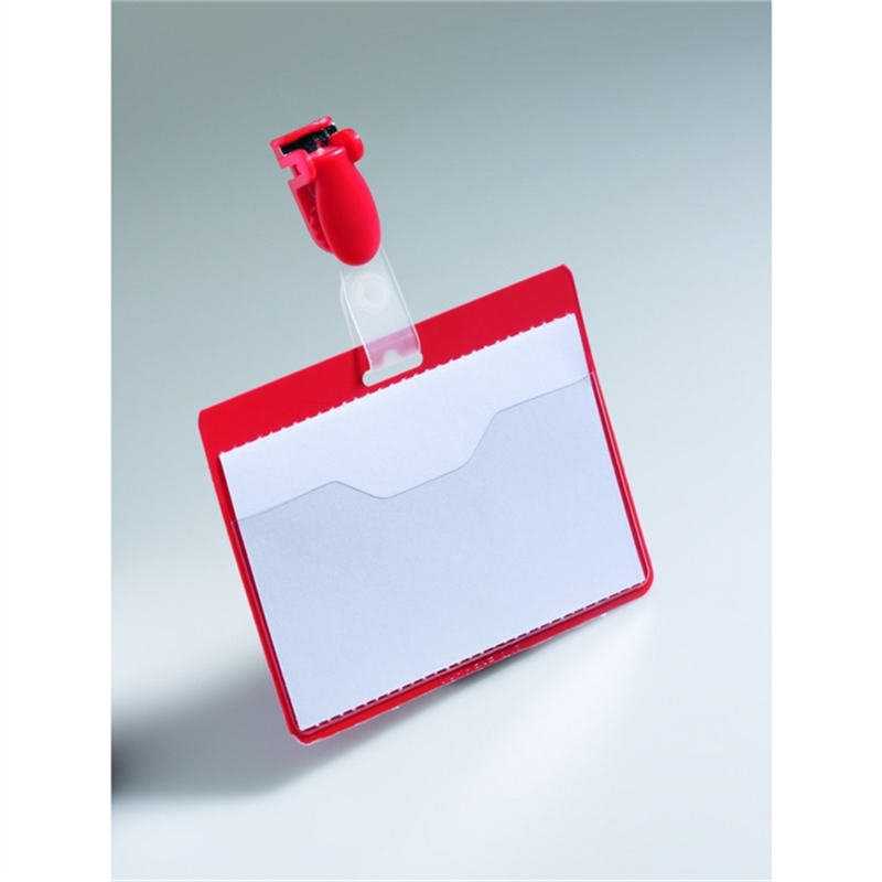 durable-namensschild-mit-clip-hartfolie-90-x-60-mm-rot-25-stueck